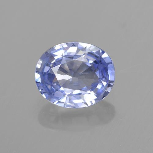 Blue Sapphire Gem - 0.7ct Oval Facet (ID: 505745)