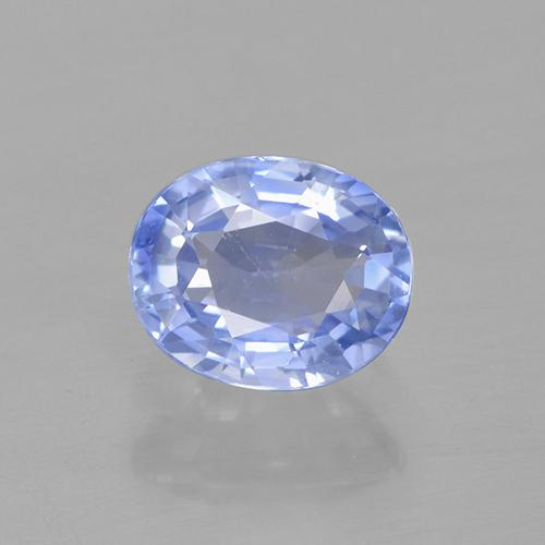 Blue Sapphire Gem - 0.8ct Oval Facet (ID: 505750)