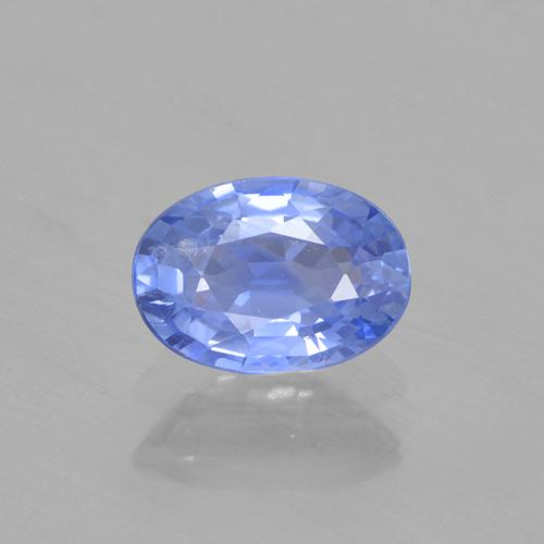 Blue Sapphire Gem - 0.6ct Oval Facet (ID: 505754)