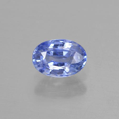 Blue Sapphire Gem - 0.6ct Oval Facet (ID: 505770)