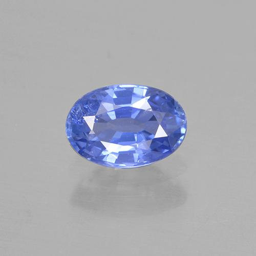 Light Cornflower Blue Zafiro Gema - 0.6ct Forma ovalada (ID: 505771)