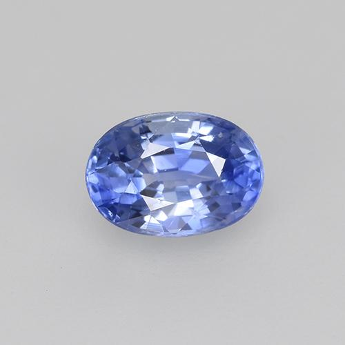 Blue Sapphire Gem - 0.7ct Oval Facet (ID: 505772)