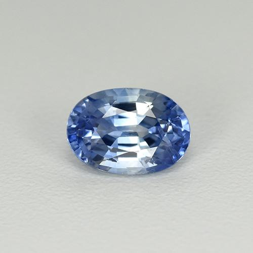 Medium Dark Blue Sapphire Gem - 0.7ct Oval Facet (ID: 505775)