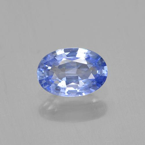 Blue Sapphire Gem - 0.6ct Oval Facet (ID: 505778)