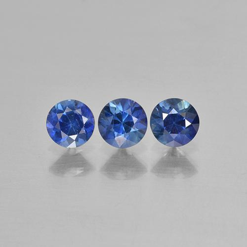 Blue Sapphire Gem - 0.3ct Diamond-Cut (ID: 505857)