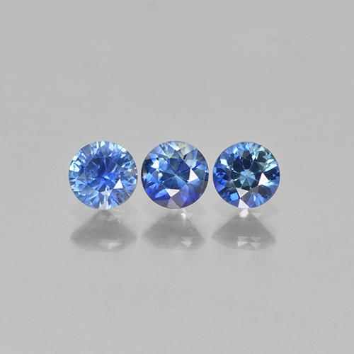Blue Sapphire Gem - 0.3ct Diamond-Cut (ID: 505862)