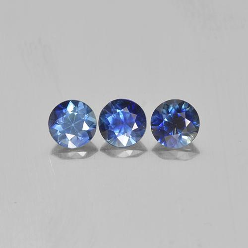Blue Sapphire Gem - 0.3ct Diamond-Cut (ID: 505865)