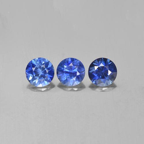 Blue Sapphire Gem - 0.3ct Diamond-Cut (ID: 505867)