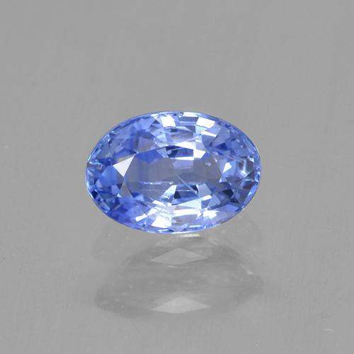 Blue Sapphire Gem - 0.6ct Oval Facet (ID: 506106)