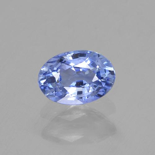 Blue Sapphire Gem - 0.7ct Oval Facet (ID: 506108)