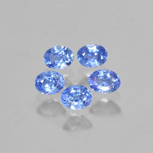 Blue Sapphire Gem - 0.2ct Oval Facet (ID: 506110)