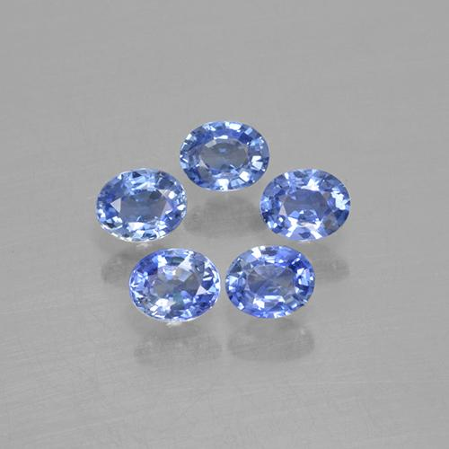 Blue Sapphire Gem - 0.2ct Oval Facet (ID: 506113)