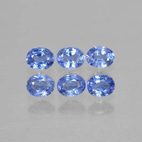 Medium Dark Blue Zafiro Gema - 0.2ct Forma ovalada (ID: 506116)