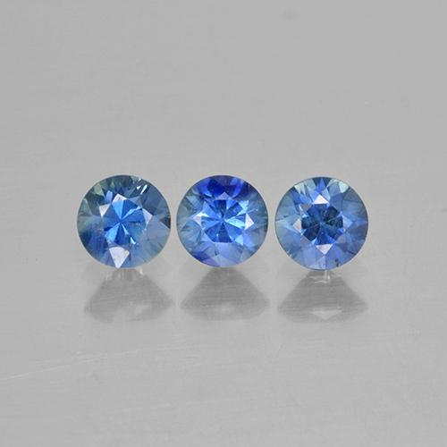 Blue Sapphire Gem - 0.3ct Diamond-Cut (ID: 506117)