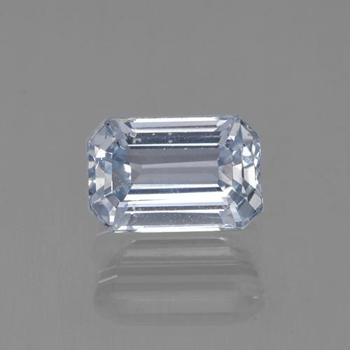 Light Blue Sapphire Gem - 1.1ct Octagon Step Cut (ID: 506125)