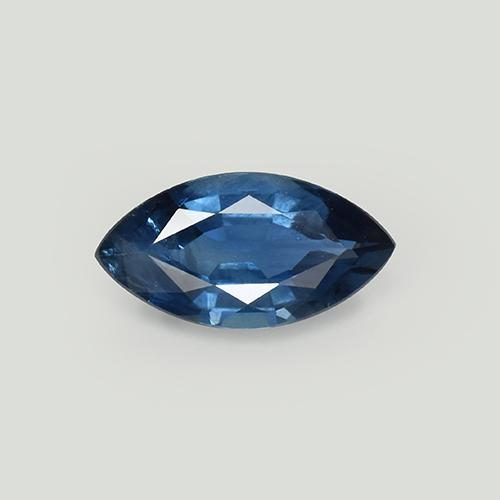 Blue Sapphire Gem - 1.1ct Marquise Facet (ID: 509948)