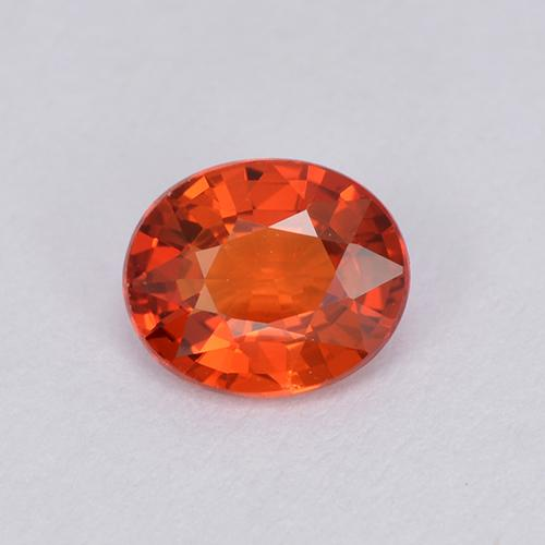 Medium Red Zafiro Gema - 0.9ct Forma ovalada (ID: 511946)