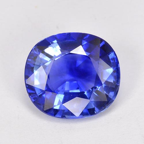 Blue Sapphire Gem - 4.1ct Oval Facet (ID: 512882)