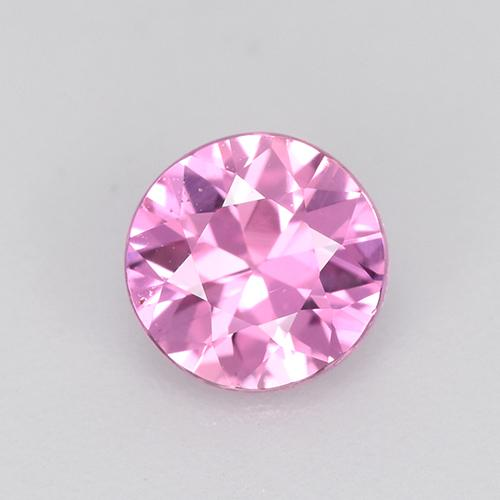 Light Purple-Pink Sapphire Gem - 0.6ct Diamond-Cut (ID: 514418)
