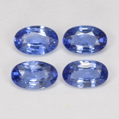 Blue Sapphire Gem - 0.3ct Oval Facet (ID: 517695)