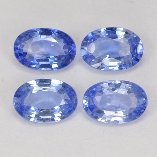 Blue Sapphire Gem - 0.5ct Oval Facet (ID: 517699)