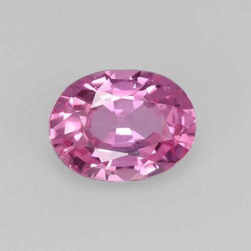 Pink Sapphire Gem - 0.8ct Oval Facet (ID: 522467)