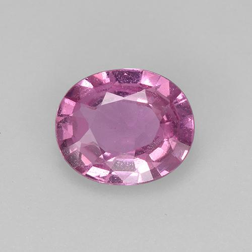 Pink Sapphire Gem - 0.6ct Oval Facet (ID: 522470)