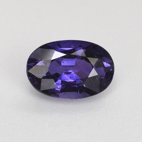 Purple-Pink Sapphire Gem - 0.7ct Oval Facet (ID: 522476)
