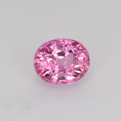 0.77 ct Oval Facet Pink Sapphire Gemstone 5.52 mm x 4.5 mm (Product ID: 522712)
