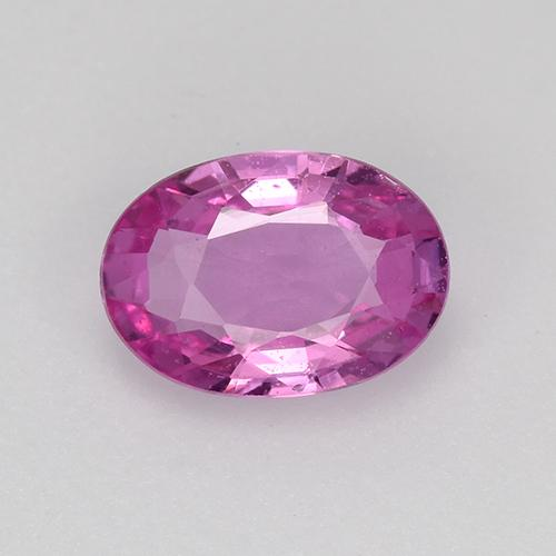 Pink Sapphire Gem - 0.8ct Oval Facet (ID: 523014)