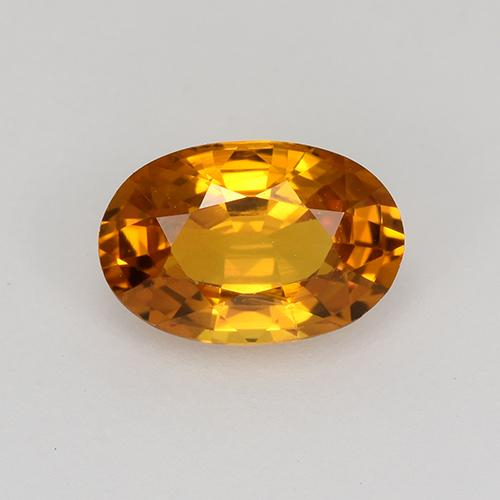 Medium Orange Zafiro Gema - 0.9ct Forma ovalada (ID: 523025)