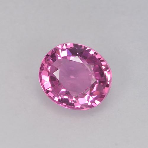 Purple Pink Sapphire Gem - 0.9ct Oval Facet (ID: 523650)