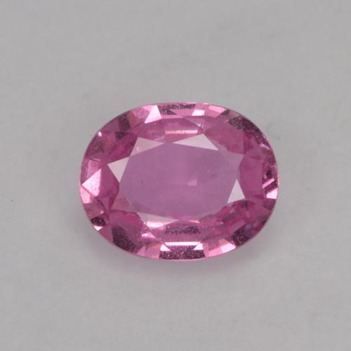 Pink Sapphire Gem - 0.7ct Oval Facet (ID: 524080)