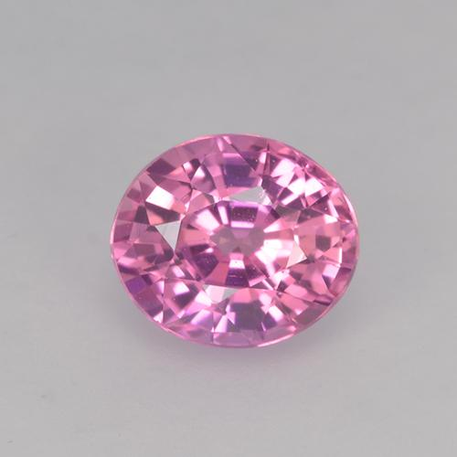 Pink Sapphire Gem - 0.7ct Oval Facet (ID: 524085)