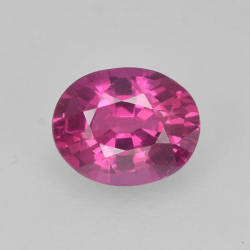 Medium Purple Zafiro Gema - 0.5ct Forma ovalada (ID: 524105)