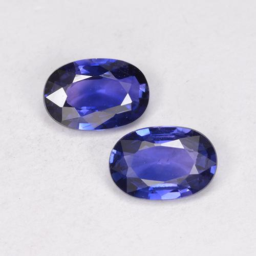 Blue Sapphire Gem - 0.6ct Oval Facet (ID: 524905)
