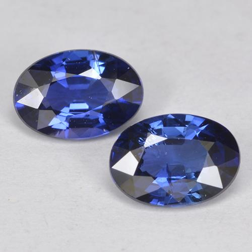 Blue Sapphire Gem - 0.5ct Oval Facet (ID: 525053)