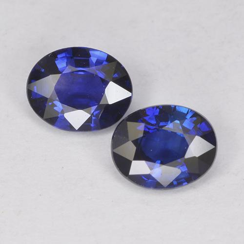 Blue Sapphire Gem - 0.4ct Oval Facet (ID: 525064)