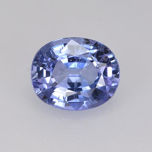 Medium Navy Blue Zafiro Gema - 0.8ct Forma ovalada (ID: 525137)