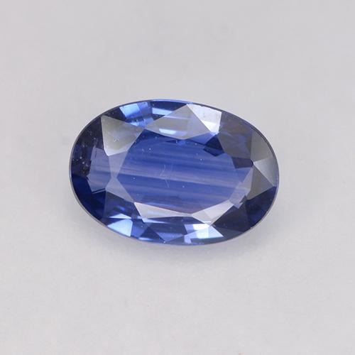 Blue Sapphire Gem - 0.6ct Oval Facet (ID: 525145)