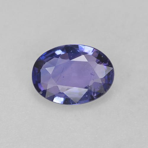 Blue Sapphire Gem - 0.6ct Oval Facet (ID: 525294)