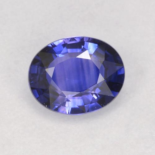 Blue Sapphire Gem - 0.7ct Oval Facet (ID: 525389)