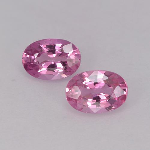 Pink Sapphire Gem - 0.6ct Oval Facet (ID: 525951)
