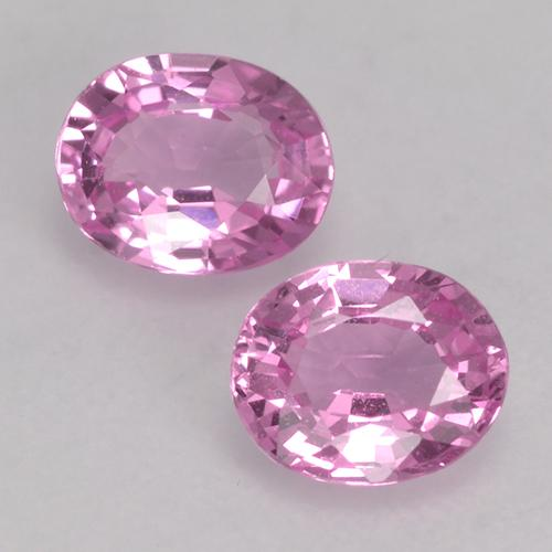 Pink Sapphire Gem - 0.4ct Oval Facet (ID: 527687)