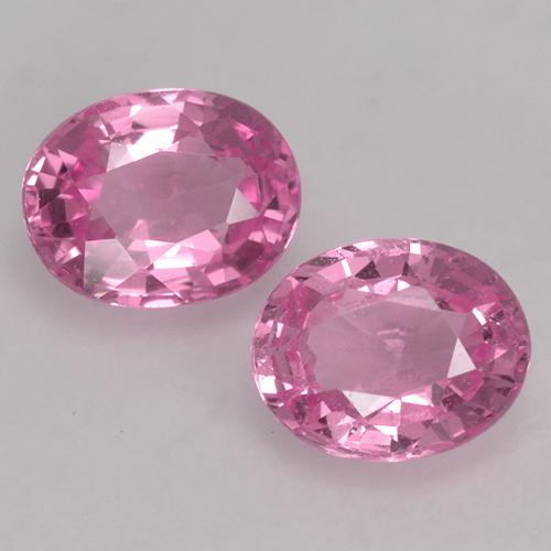 Pink Sapphire Gem - 0.4ct Oval Facet (ID: 527688)