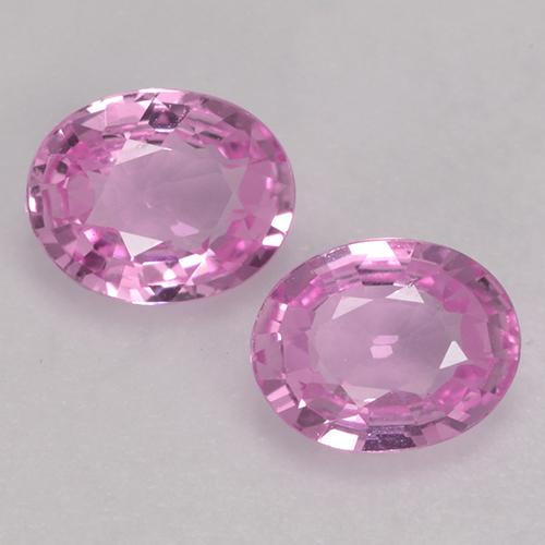 Pink Sapphire Gem - 0.4ct Oval Facet (ID: 527689)