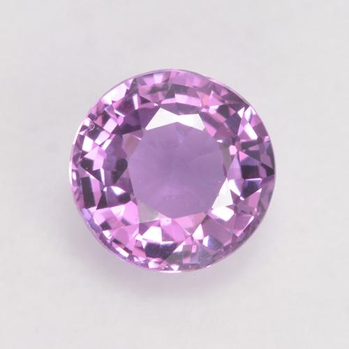 Very Light Grape Purple Zafiro Gema - 0.7ct Faceta Redonda (ID: 528161)