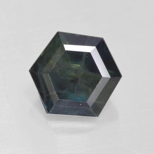 Multicolor Sapphire Gem - 1.1ct Hexagon Cut (ID: 533848)
