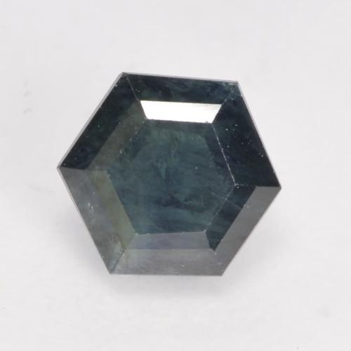 Multicolor Sapphire Gem - 0.8ct Hexagon Cut (ID: 534362)