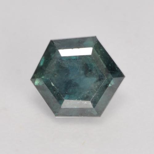 Multicolor Sapphire Gem - 0.6ct Hexagon Cut (ID: 534363)